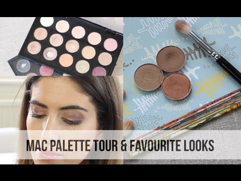 MAC Palette Tour & Favourite Looks // Lily Pebbles - YouTube