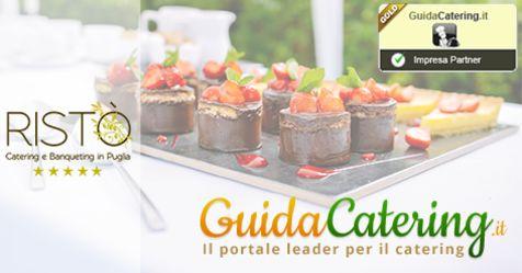 "Ristò Catering e Banqueting diventa ""Impresa Partner Gold"" sul portale leader di Guidacatering.it http://bit.ly/1BrMpRi #love #wedding"