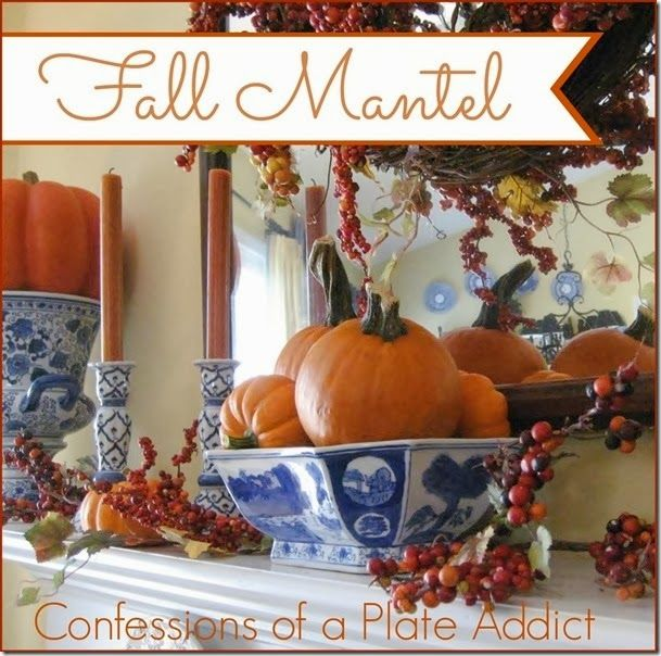 50 Absolutely Gorgeous Farmhouse Fall Decorating Ideas: 1000+ Ideas About Fall Mantels On Pinterest