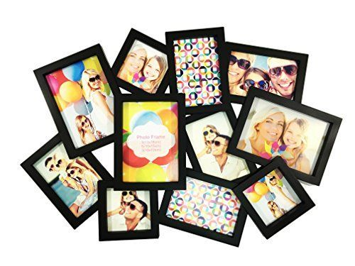 BestBuy Frames Puzzle Style Collage Picture Frame 11 Opening 35x7 54x6 34x4 Perfect Photo Frame for Family Friends Travel Pictures Collage and Multiple Opening Frames -- Want to know more, click on the image.