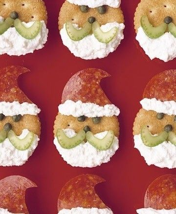 Antipasti natalizi a base di finger food :)