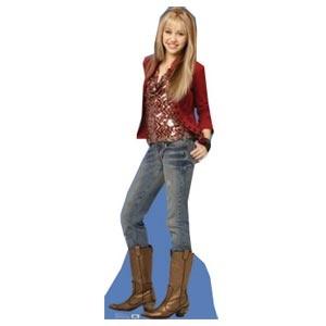 "Hannah Montana Lifesize Cardboard Standup (5' 6"")"