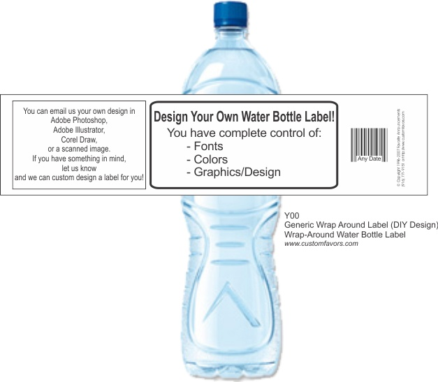 34 best personalized bottle labels for party favors images on do it yourself personalized water bottle labels for baby showers from solutioingenieria Choice Image