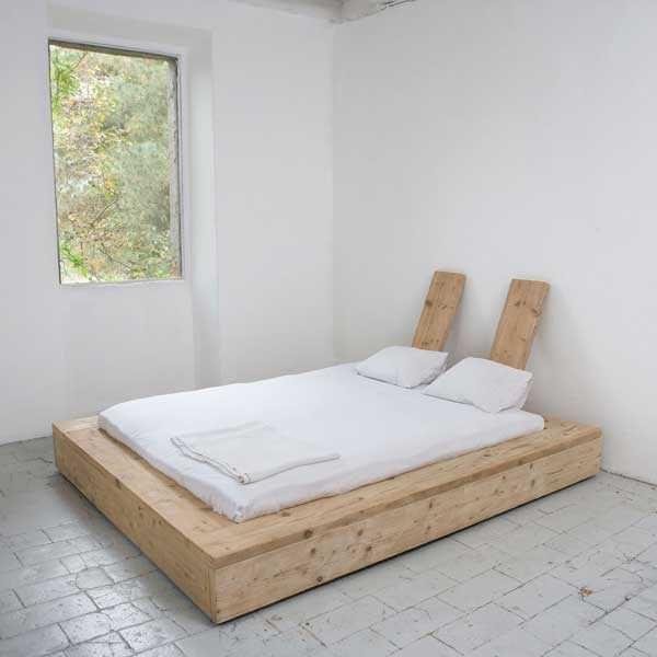Wood Slat Bed Base Bedroom Pinterest