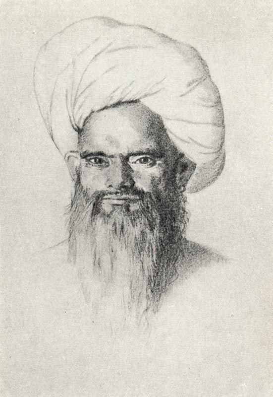 Василий Верещагин - Индиец-мусульманин в чалме (1867)