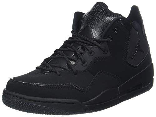 059175545e1dd5 NIKE Jordan Mens Courtside 23 Nubuck Textile Black Trainers 12 US ...