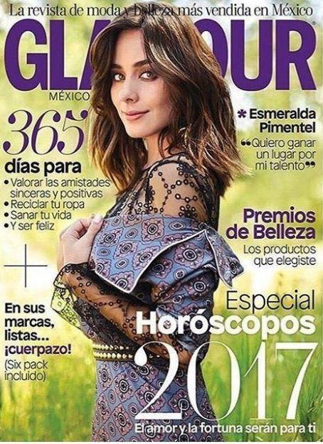 Esmeralda Pimentel - Glamour Magazine Cover [Mexico] (January 2017)