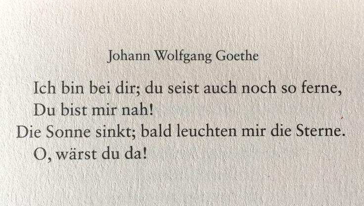 Deutsche Lyrik von damals und heute
