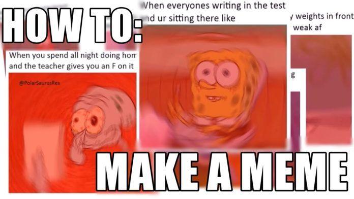 How To Make A Meme Using Free Meme Generator Apps Funny Memes Internet Funny How To Make Memes