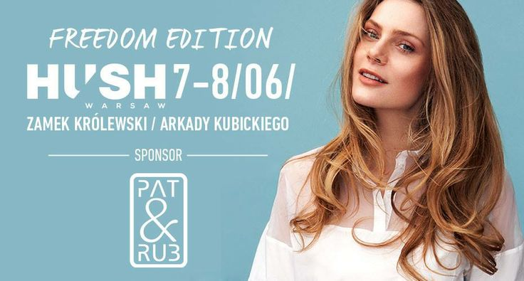 To już w ten #weekend. Czekamy na Was na #targi #mody #hush #warsaw #fashion #designers #cosmetics #organic #patrub #patandrub