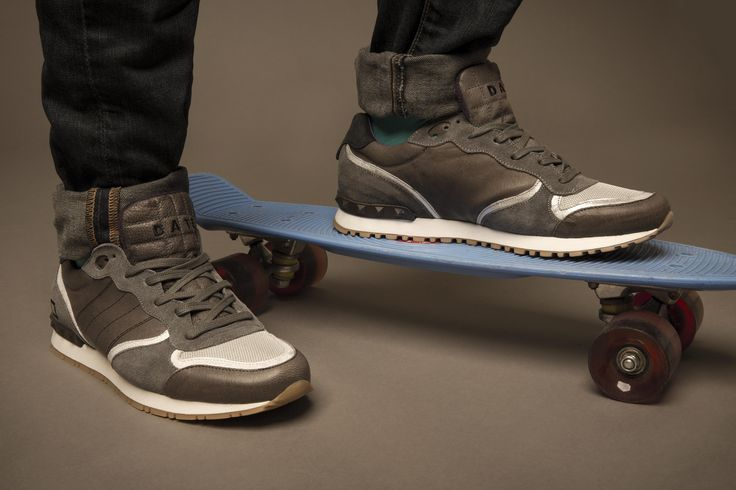 BOSTON NAPPA SMOG The new D.A.T.E. Premium Sneakers Collection on www.date-sneakers.com