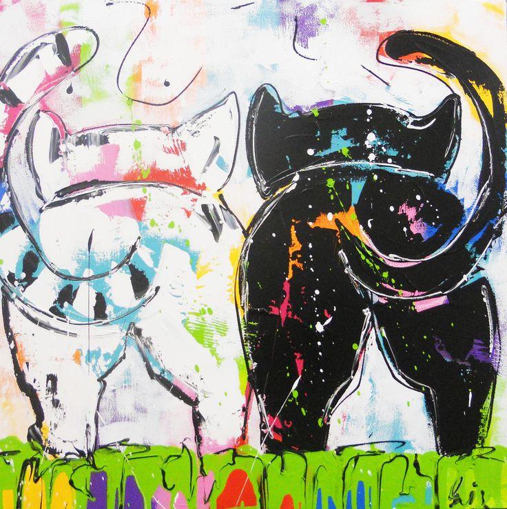 Collectie Poezen http://www.vrolijkschilderij.nl