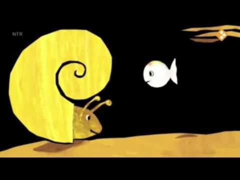 Klein wit visje is zijn mama kwijt digitaal prentenboek - YouTube