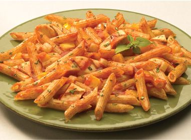 This recipe is delicious and quick to make: Penne Rigate with Chicken. Bon appétit! #recipe