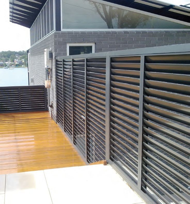 25 best ideas about aluminium shutters on pinterest for Balcony privacy solutions