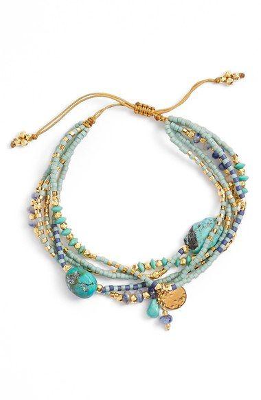 Chan Luu Multistrand Bead Bracelet | Nordstrom