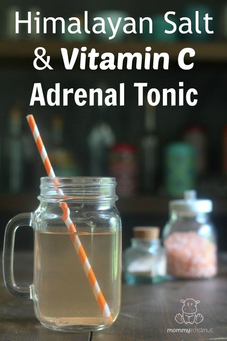 Himalayan Salt And Vitamin C Adrenal Tonic - It's so simple it can only be called an un-recipe, but this tip from Dr. Wilson's book - Adrenal Fatigue: The 21st Century Stress Syndrome - has been SO HELPFULl for me.