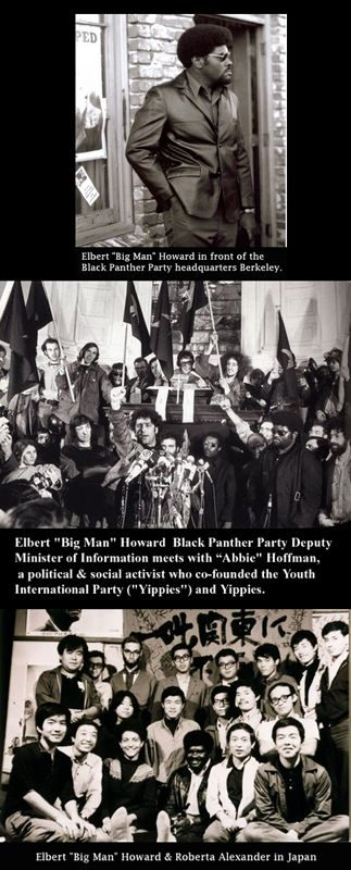 "Elbert ""Big Man"" Howard, one of the original founding members of Black Panther Party, was a Black Panther from 1966-1974. He served as Deputy Minister of Information & a member of the Central Committee & International Solidarity Committee. He was an editor of the Black Panther Party newspaper & Party international spokesperson."