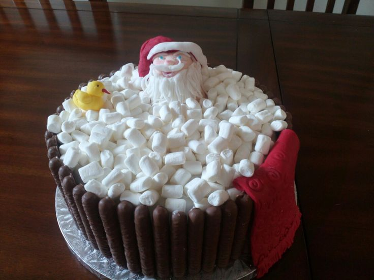 I know Christmas is over but this cake is so cool my mum made it!