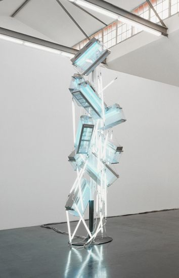 Astrid Klein, Fly catcher III, 1987-91