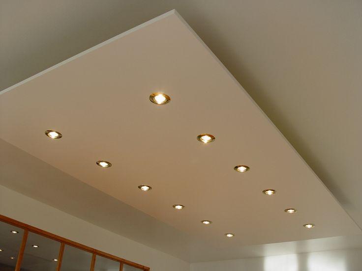 Mooie verlaagde plafond