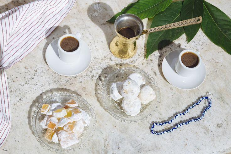 Afternoon Greek Coffee, Loukoumia, Kourabie Bites | Gourmet Greek food and gifts, delivered across Australia.