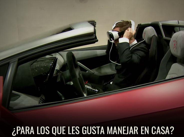 Video: te has preguntado ¿qué se siente viajar en un Lamborghini?  http://www.enter.co/especiales/hogar-digital/siente-el-poder-de-un-lamborghini-huracan-con-el-gear-vr/