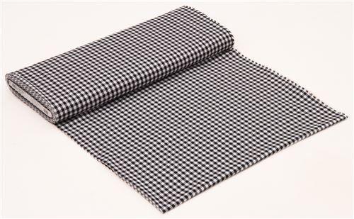 black white checkered Robert Kaufman fabric Carolina Gingham 3