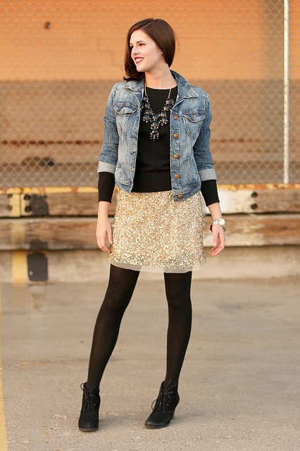 What I Wore: All That Glitters