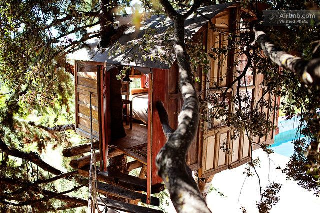 treehouse in a Natural Park in Huétor de Santillán