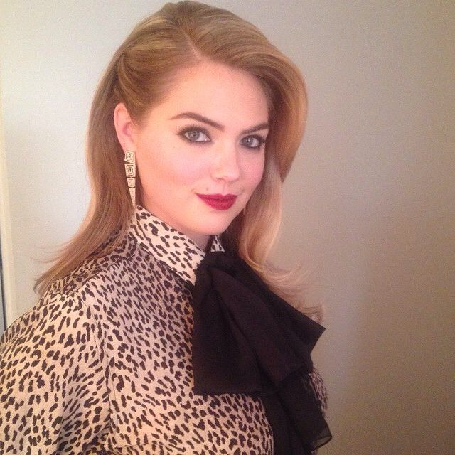 Kate Hupton's Perfect Hair Do!