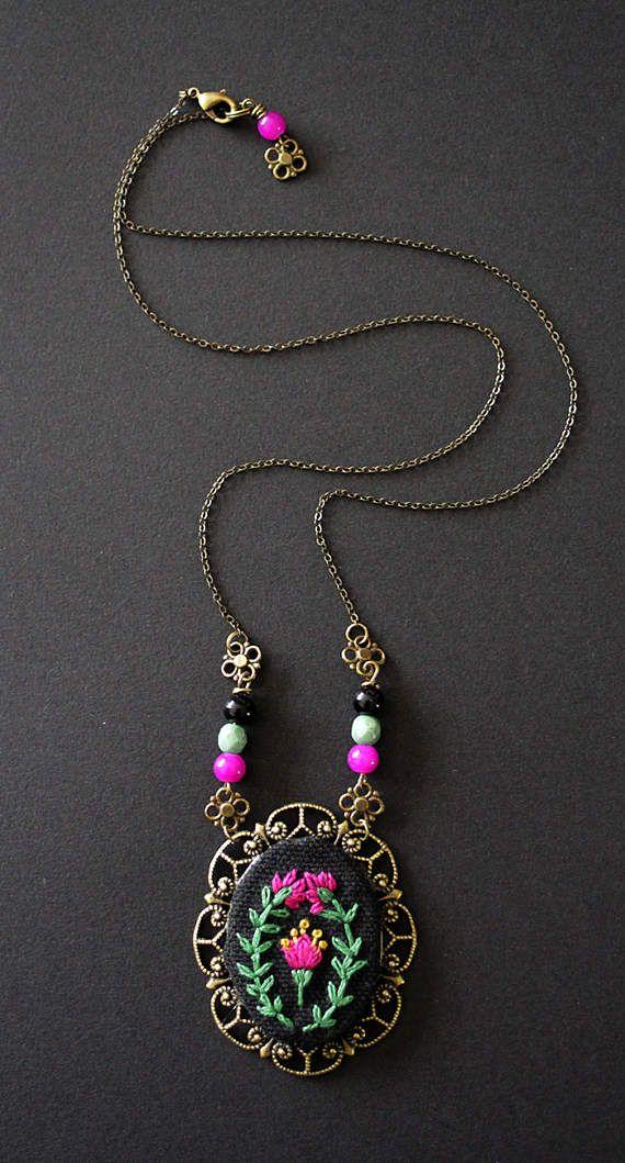 Embroidered medallion by MinaSmoke