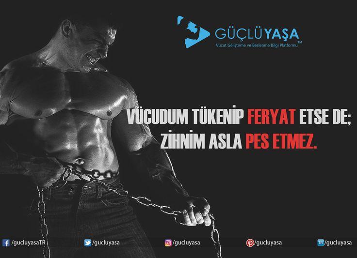 Asla pes etme!👣💪🏼🔝🔜  #vücutgeliştirme #bodybuilding #egzersiz #gymmotivation #fitness #fit #kas #gym #motivasyon #spor #antrenman #idman #macfit #muscle #vücut #yoga #kadın #kadınlaraözel #woman #güzellik #yaşam #cardio #kardiyo #sporsalonu #türkiye #güçlüyaşa gucluyasa.com
