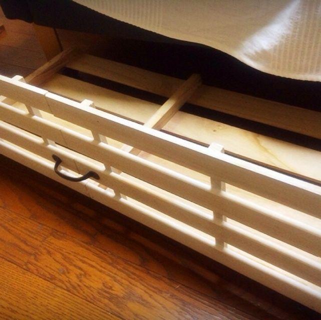 すのこ/セリア/ソファ下収納/DIYのインテリア実例 - 2014-02-19 12:51:54 | RoomClip(ルームクリップ)