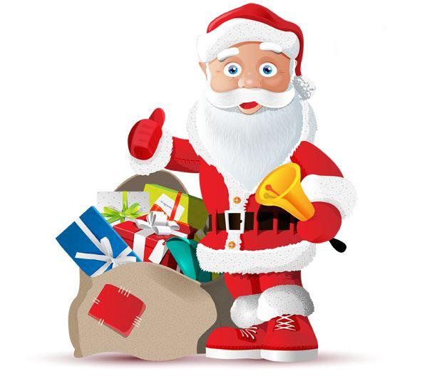 Image for Free Santa Vector Character