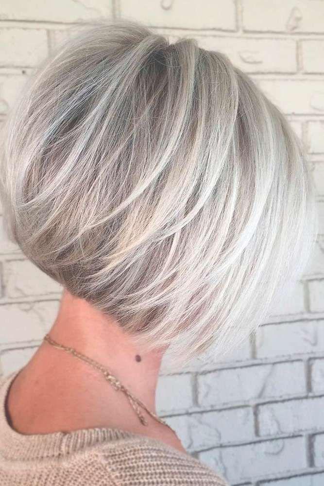 Showing Gallery Of Gray Bob Haircuts View 9 Of 15 Photos Short