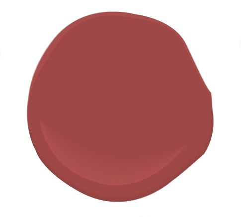 "Benjamin Moore - Maple Leaf Red  Or as I prefer ""Nantucket Red""!"