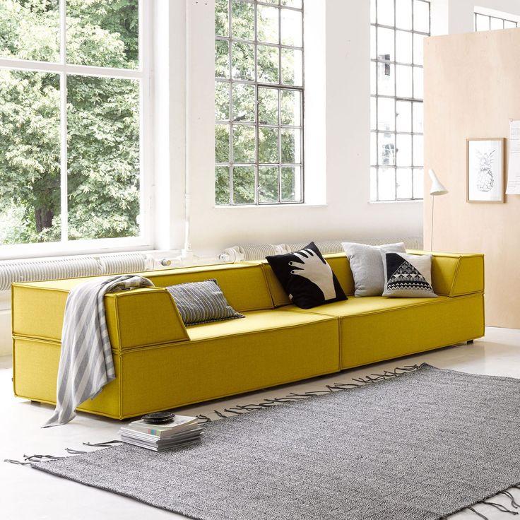 Modul Sofa / Modern / Für Innenbereich / Textil TRIO By Team Form Ag COR