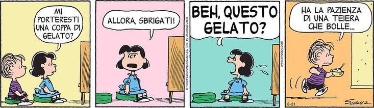 31 agosto 2015 Peanuts