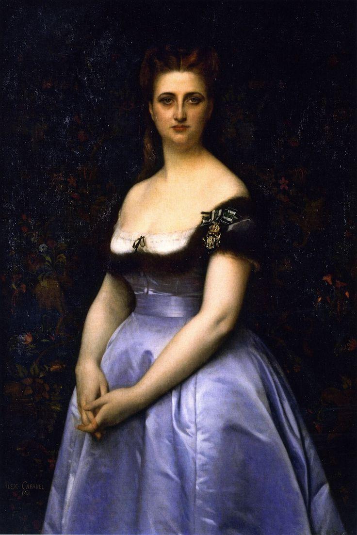 Madame Carette (Alexandre Cabanel - 1868) Musee National du Chateau de Compiegne, Paris