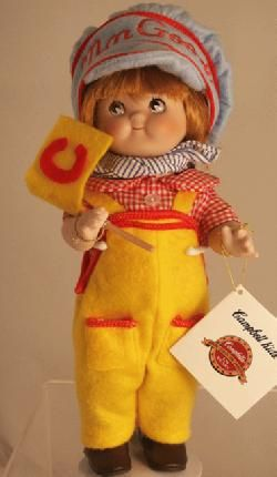 Campbell's Soup -- Engineer CK-4 Campbell Kid Doll