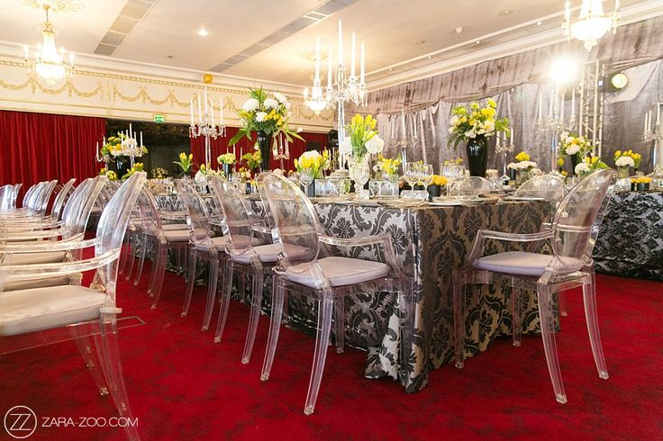 African Wedding reception at the Belmond Mount Nelson Hotel.