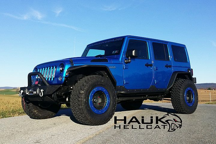 This colossus has been built by Pennsylvania's Hauk Designs and it houses that aforementioned 6.2-liter V8, which chucks 707 ponies and 650 lb.-ft. of torque to all four wheels.