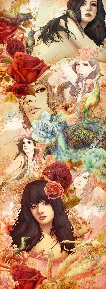 Design inspiration - illustrations