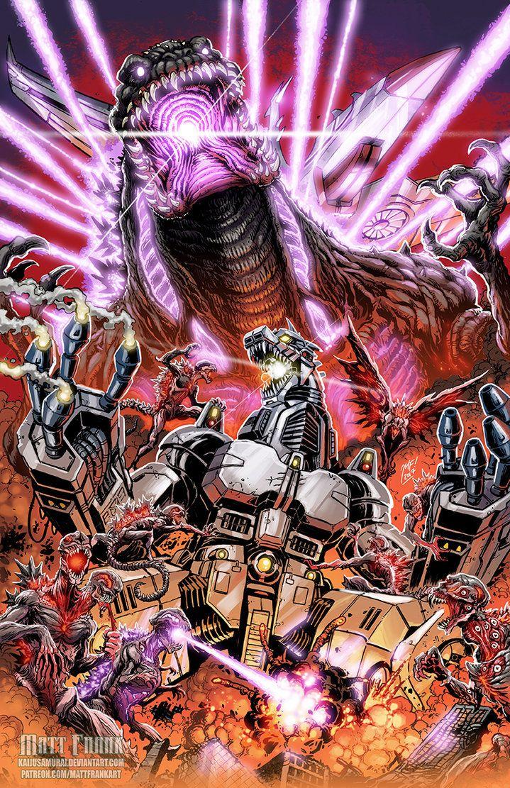 Shin Godzilla vs MechaGodzilla G-FEST print by KaijuSamurai.deviantart.com on @DeviantArt