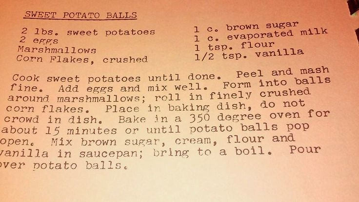 Grandma's Vintage Recipes