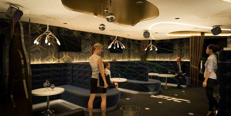 #csiszertamas #3D, #interior #design, #club
