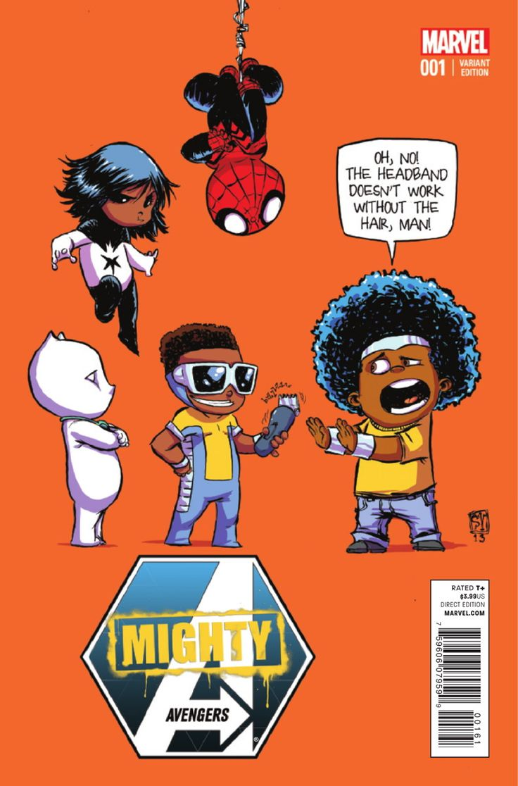 Mighty Avengers #1- Skottie Young variant