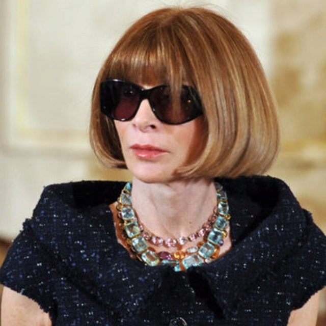 32 Best Images About My Idol Anna Wintour In Fashion Hair And Style On Pinterest Business