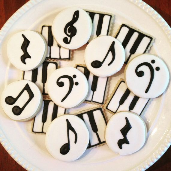 Music Cookies-Perfect for a Recital or Concert-One Dozen